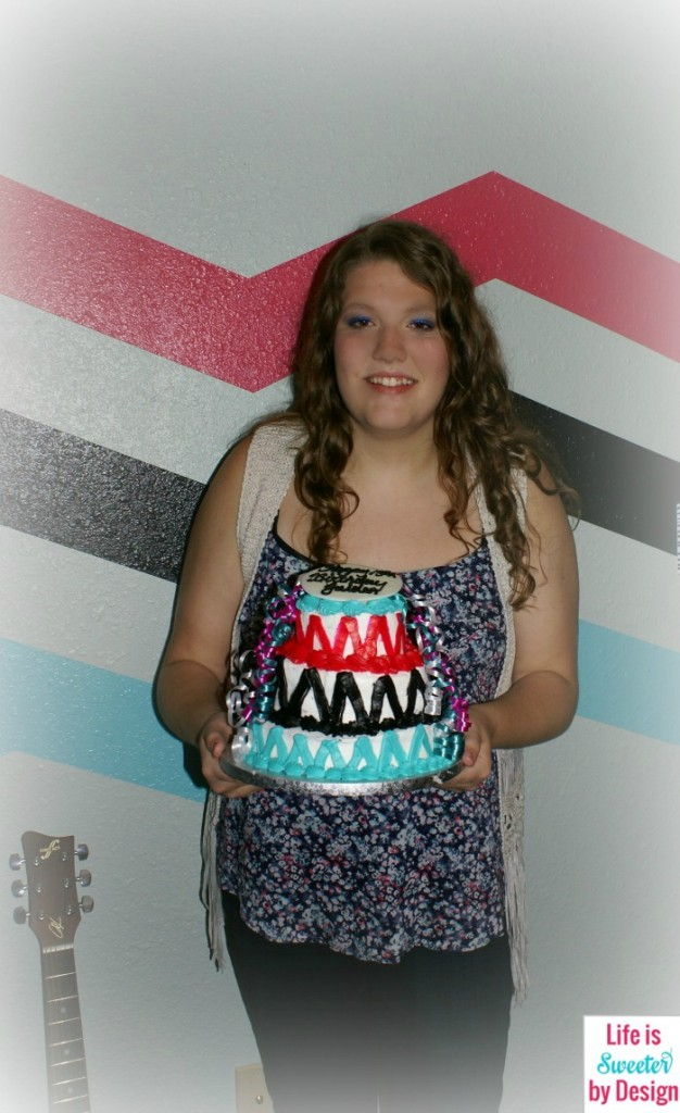 13th Birthday Party Cake