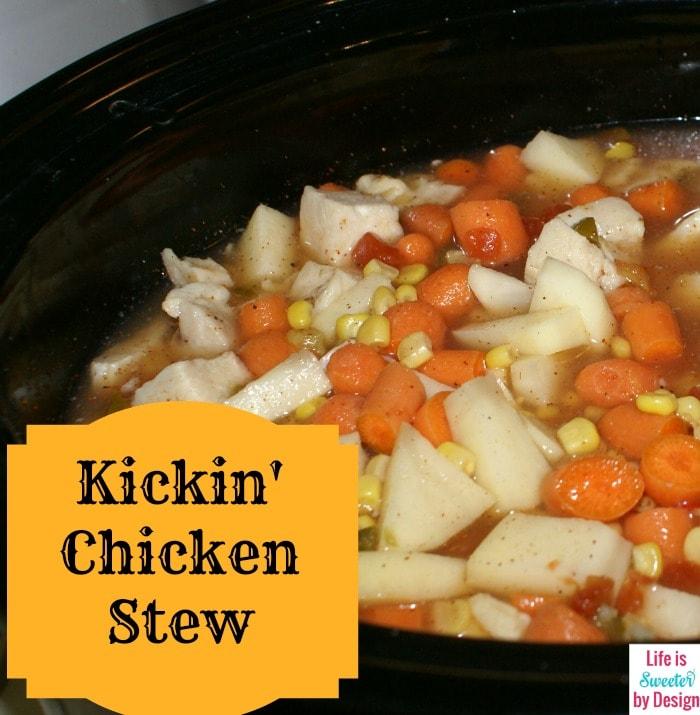 Kickin Chicken Stew