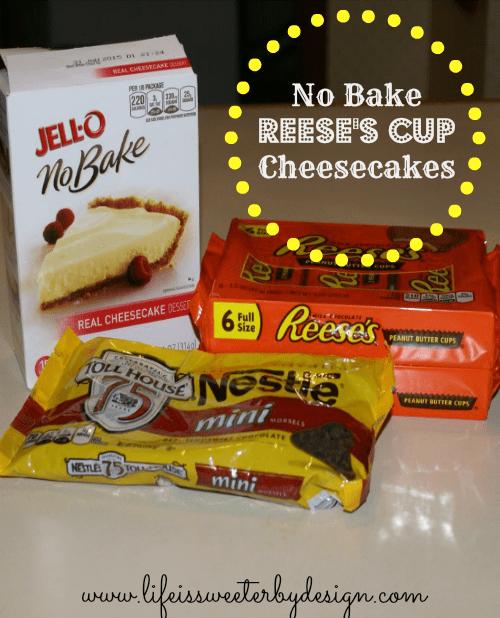 No Bake Reese's Cup Cheesecake Recipe