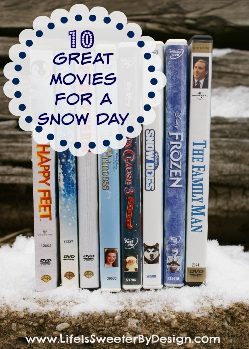 Great Movies for a Snow Day