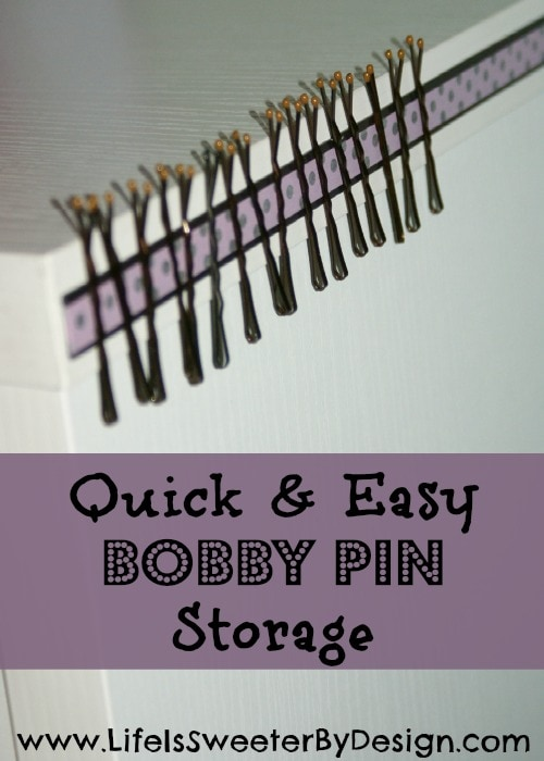 Bobby Pin Storage
