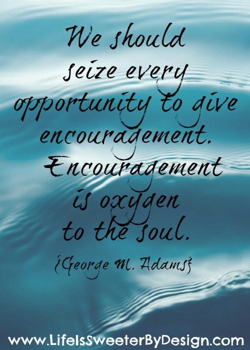 Quotes of encouragement