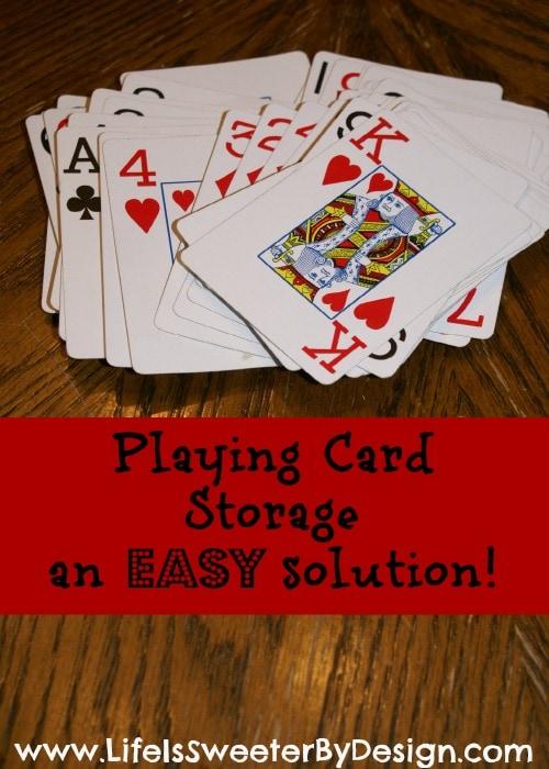 Playing Card Storage