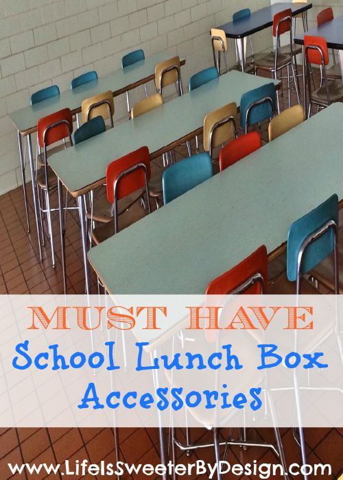 school lunch box accessories